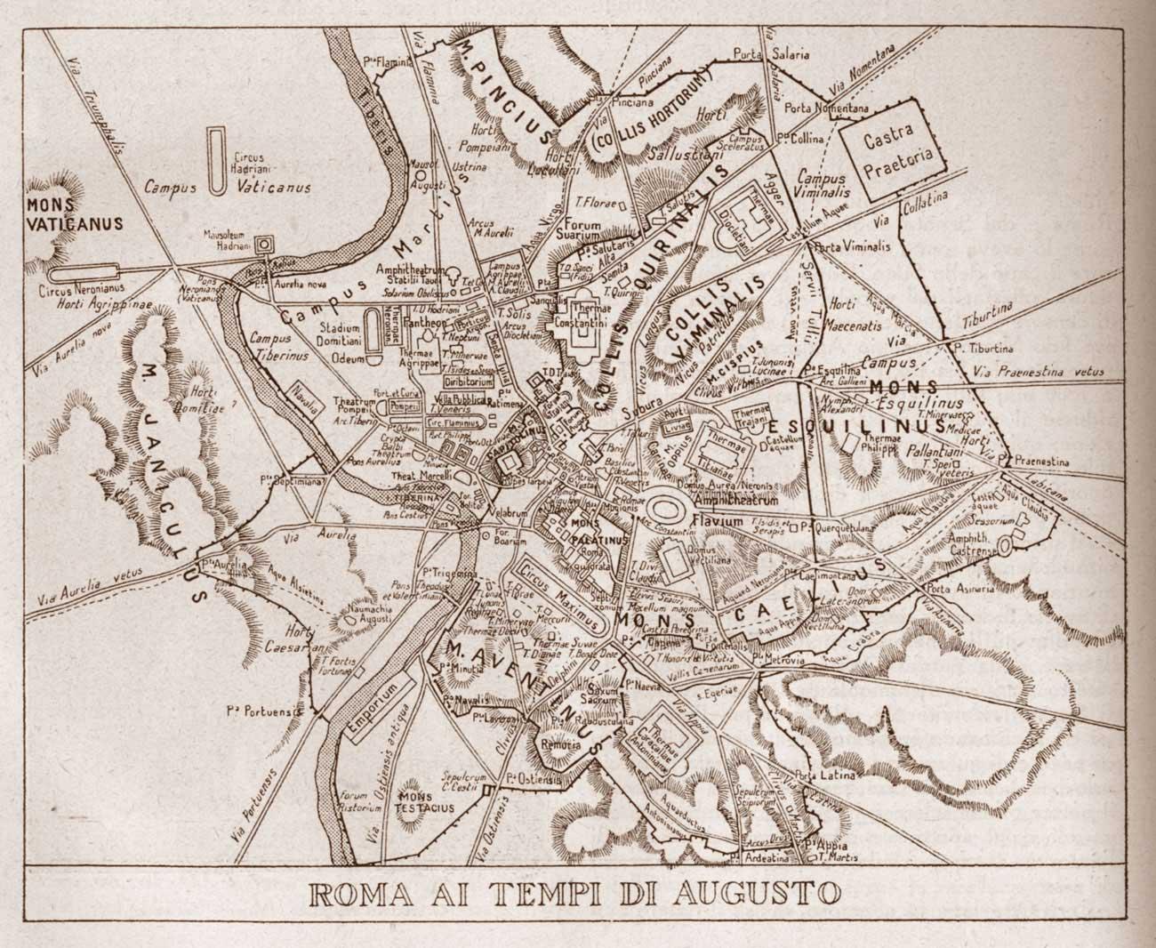 Italia cronologia l 39 italia e il suo nome for Augusto roma