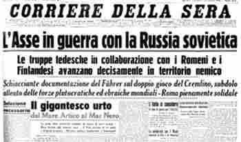 SECONDA GUERRA MONDIALE - L'ANNO 1941