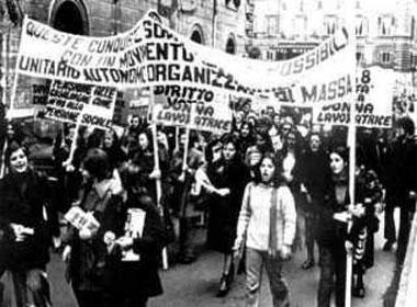 Donna e societa 39 1972 e le donne scesero in strada for Nomi delle donne della politica italiana