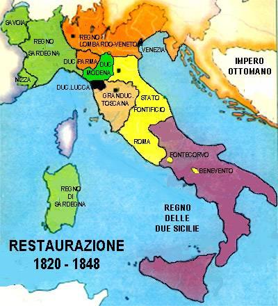 Cartina Italia 1810.Il Meridione Nel Periodo Napoleonico Storia Universale