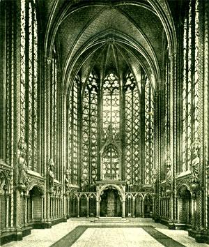 Essa consta di una cripta a triplice navata e di una cappella superiore  riccamente decorata, che si distingue così per