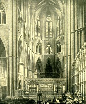 Il sepolcreto dei re inglesi, della seconda metà del xiii secolo